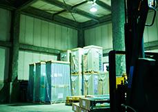 倉庫内の画像